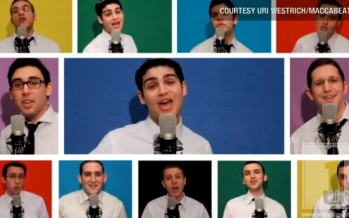 Maccabeats – Candlelight Video takes local media by storm, CNN, CBS2, Good Morning America