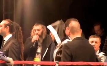 Matisyahu sings Dmitriy Salita into the Ring! Matisyahu