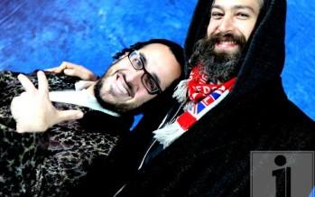 Shemspeed photo shoot with Lipa & Matisyahu