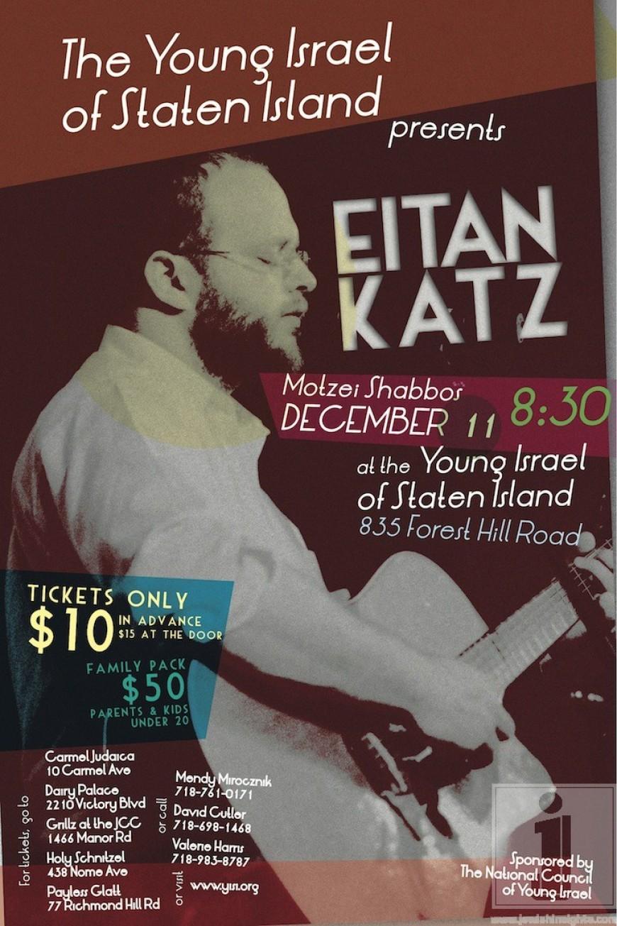 Eitan Katz at Young Israel of Staten Island