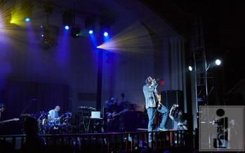 Matisyahu performing last night @ YU photo by: Stan Weiss