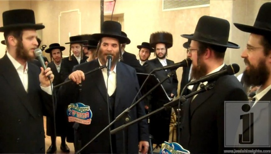 Hasidic Choir and Band Sings