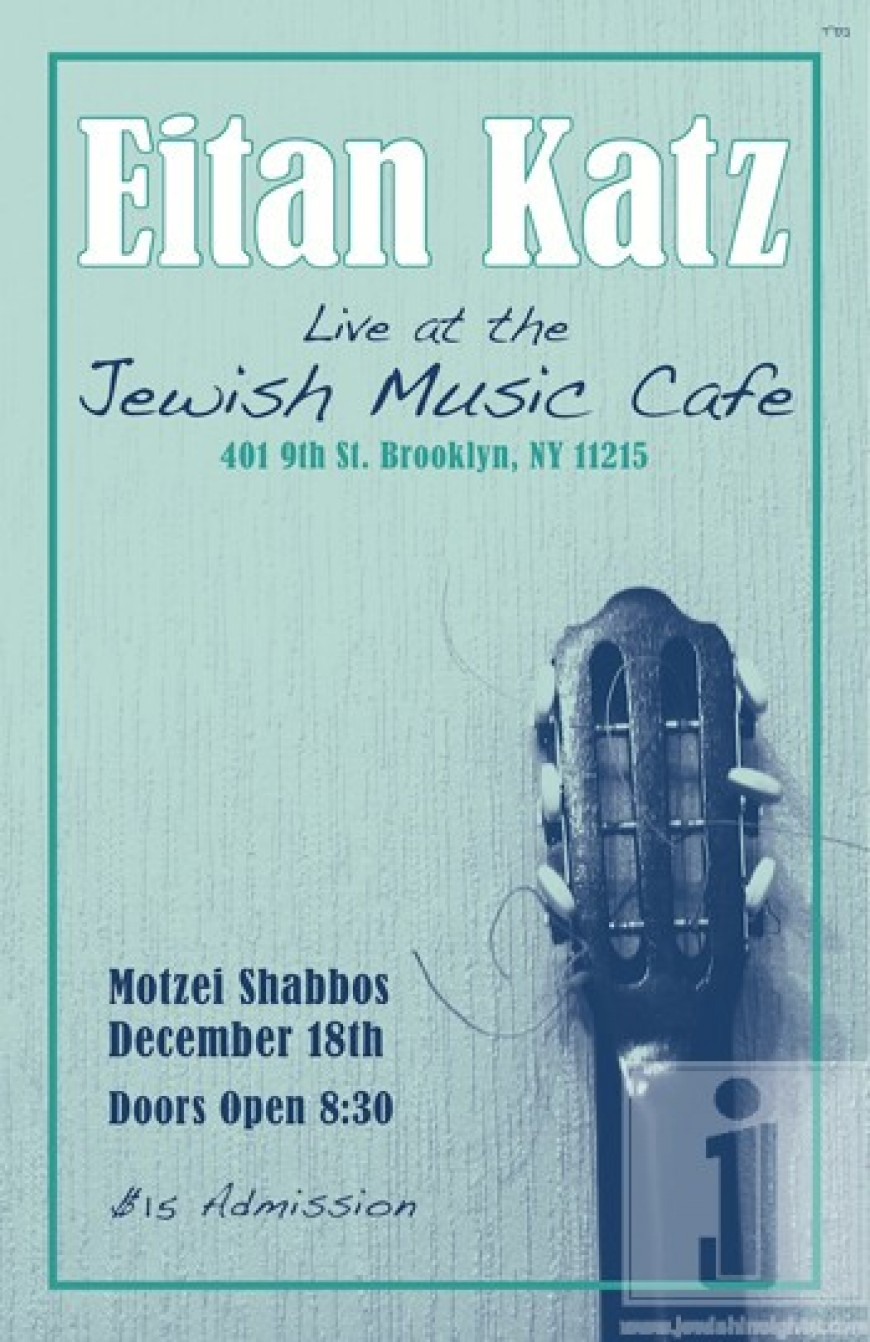 Eitan Katz Live at the Jewish Music Cafe