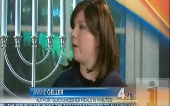 Jamie Geller on NBC Today in New York