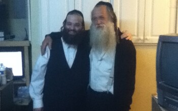 Shloime Taussig & Yitzchak Fuchs working together