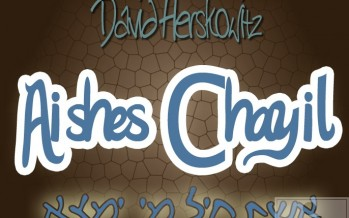 "Download DAVID HERSKOWITZ's new single ""AISHES CHAYIL"""
