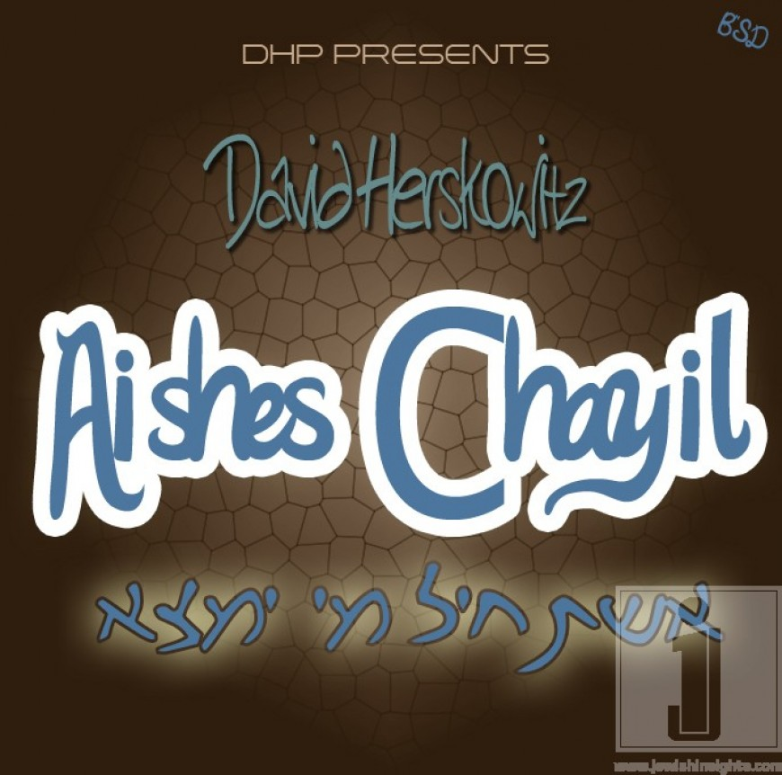 """Download DAVID HERSKOWITZ's new single """"AISHES CHAYIL"""""""