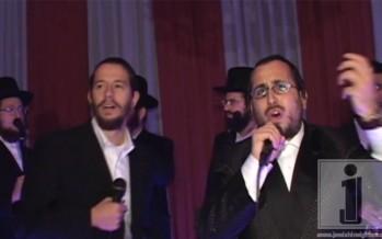 Lipa Schmeltzer and Shloime Gertner Singing