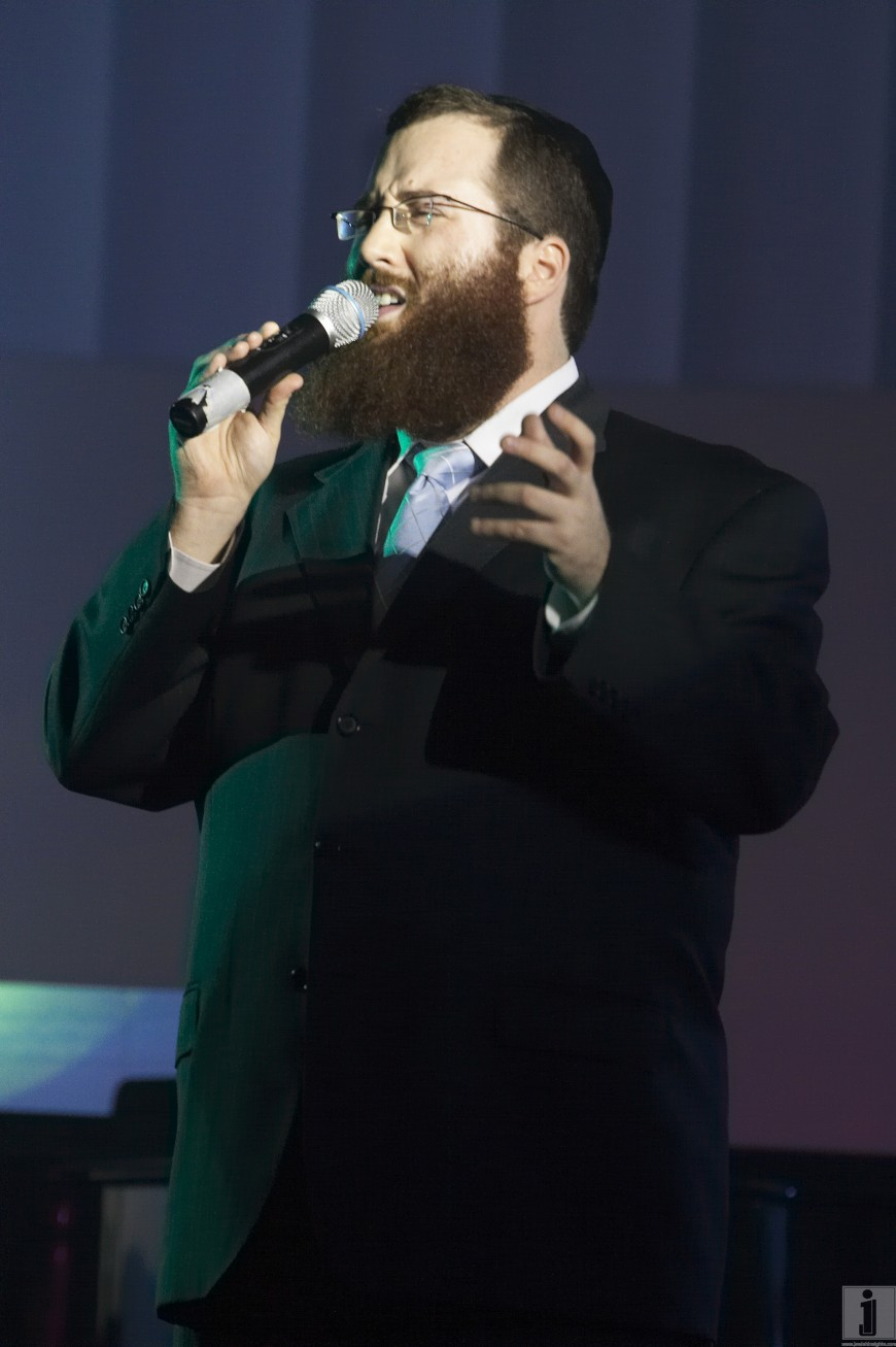 Yacov Young singing Kesser/Yachad at the Young Israel Synagogue of Manhattan Annunal Concert