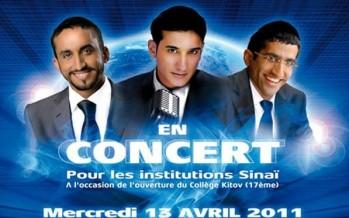 Elaor Productions presents: Chaim Israel, Itzik Eshel and Avishai in Concert at the Casino de Paris