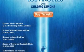 [Exclusive] YAAKOV SHWEKEY LIVE IN LOS ANGELES with SHLOMO SIMCHA