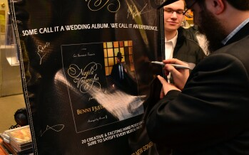 Benny Friedman signing CD's in Eichlers yesterday