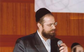 "Rav Hillel Palei composes a new song for Ger starring Yisroel Werdyger ""Torah"""