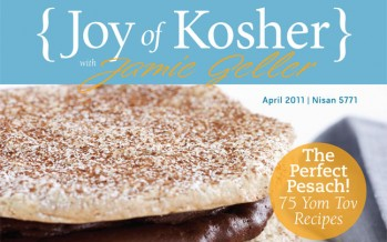 "Jamie Geller Announces Her New Magazine ""Joy Of Kosher with Jamie Geller""!"