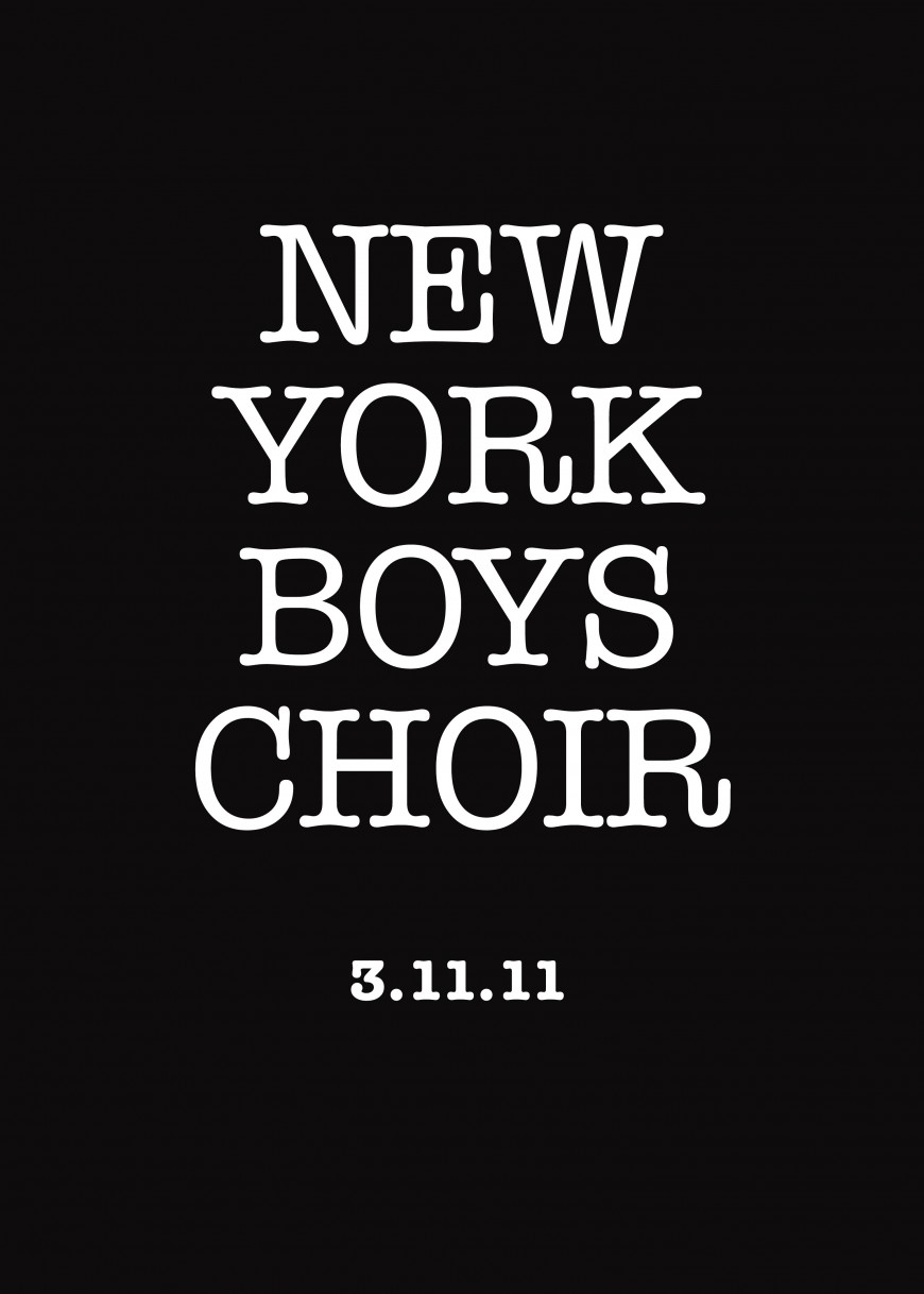 Who are the New York Boys Choir