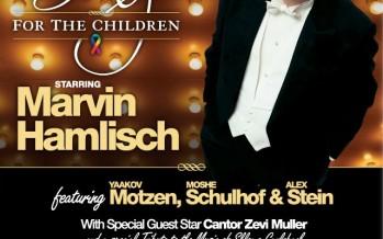 Chai Lifeline Canada presents: Sing For The Children starring Marvin Hamlisch, Yaakov Motzen, Moshe Schulhof & Alex Stein