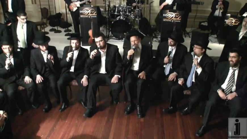 Mordechai Ben David, Shloime Dachs, Yeedle, Yumi Lowy and Shira Choir At the C.C.H.F. Dinner