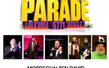 Tzivos Hashem's Great Parade 5771: MBD, Benny Friedman, Shloime Gertner, 8th Day & Uncle Moishy!