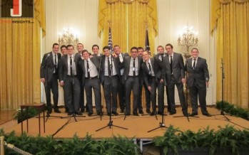 Photos of the Maccabeats at the White House