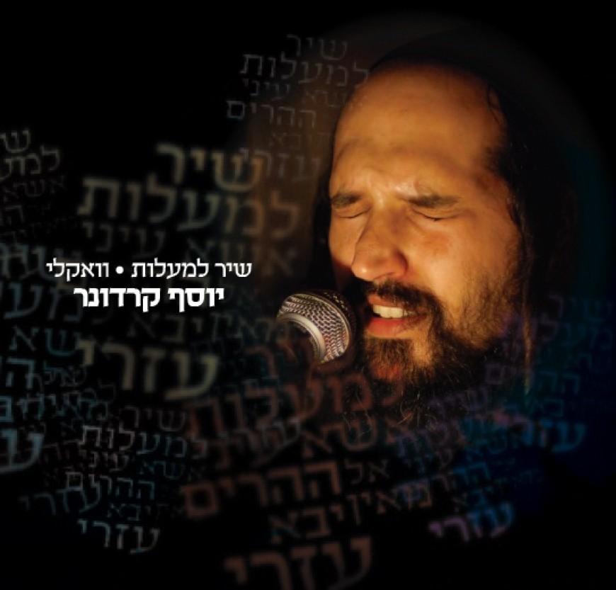 "Yosef Karduner releases breathtaking acapella version of ""Shir Hamalos"""