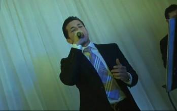 Uri Biton & Avi Perets at a wedding