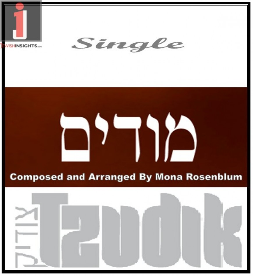 "Tzudik releases his second single ""Modim"""