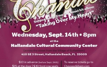 CHANALE TO PERFORM LIVE CONCERT IN FLORIDA