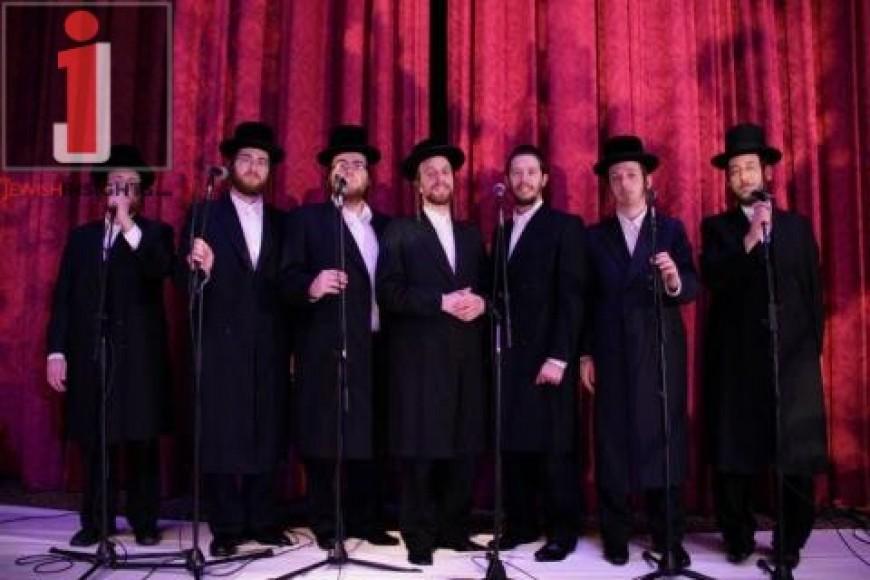 The Shira Choir & Shloime Gertner @ a wedding in NY Hilton