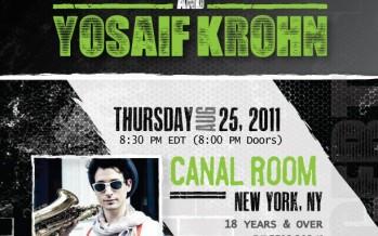 Moshav Band & Yosaif Krohn @ The Canal Room