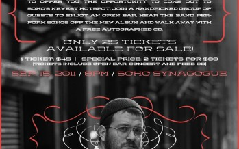 Moshe Hecht Band CD Release Party!