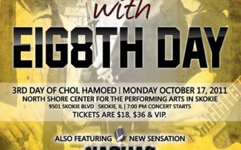 8TH DAY & NACHAS to perform @ CHICAGO