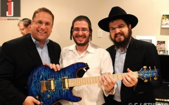 Benny Friedman, Shloime Dachs & Benny Amar perform for Crown Heights special needs