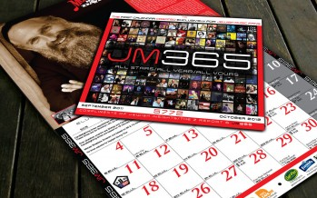 Presenting JM365: The Ultimate 14 month calendar for the JM fan!