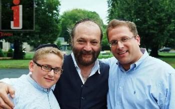 Dovid Dachs, Yehuda Green & Shloime Dachs upstate