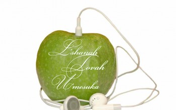 Shanah Tova to all out visitors/readers/fans