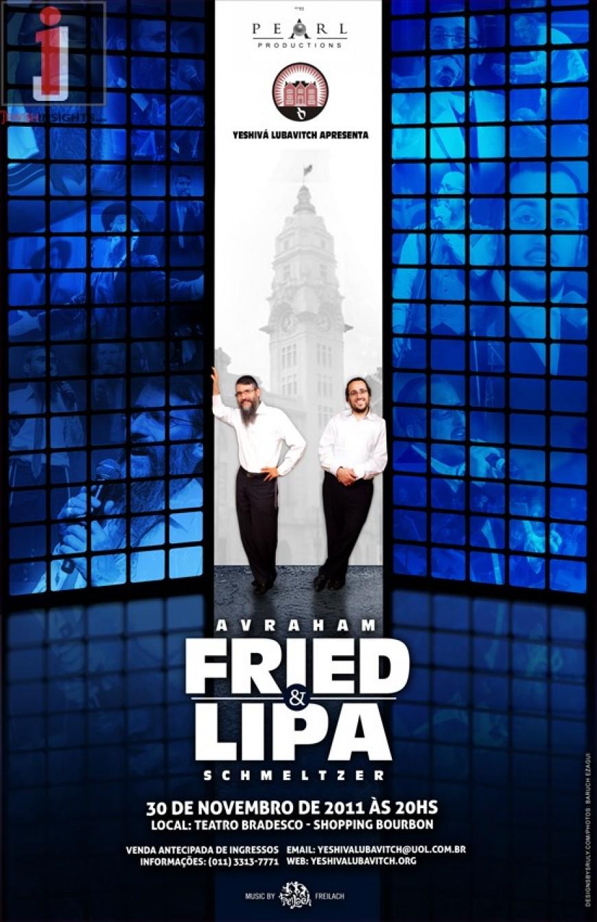 Lipa & Fried Go On Tour!