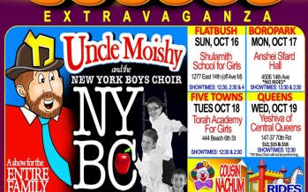 SUCCOS EXTRAVAGANZA with Uncle Moishy & the NEW YORK BOYS CHOIR