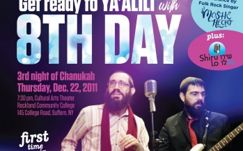 Moshe Hecht added to Chanukah Unity Concert in Rockland, NY with 8TH DAY