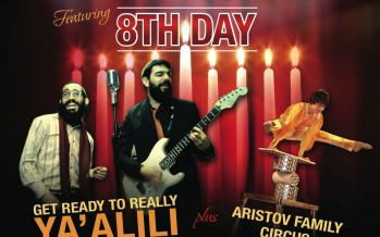 8th Day Kicking off this years Chanukah Tour in Toronto