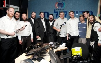 Maleva Malka in Radio Kol Chai with Yitzchak Meir and friends: Full Audio + Pictures & Video!