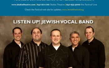 WARM UP THIS WINTER WITH LISTEN UP! JEWISH VOCAL BAND