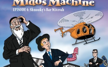 Nachum Segal and Abie Rotenberg Celebrate the Long Awaited Release of Marvelous Midos Machine Vol. 4