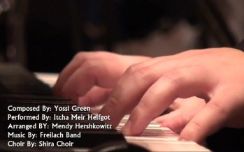 "A New Yossi Green Song ""ברכה אחריתא-Bracha Achriteh"" Performed by Y.M. Helfgot, Freilach Orchestra & the Shira  Choir"