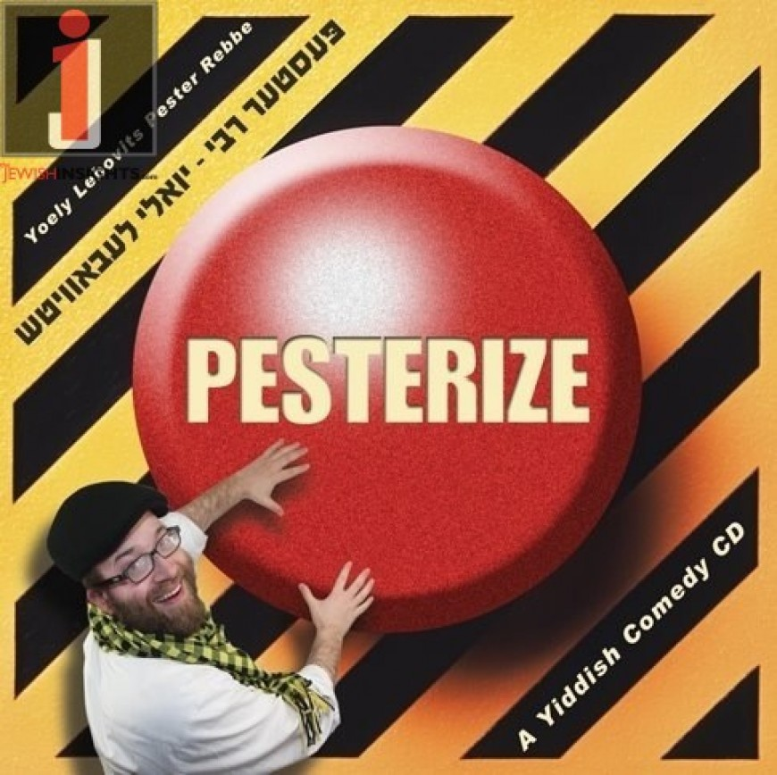 "Pester Rebbe announces new album ""Pesterized"""