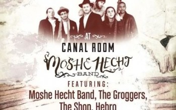 PURIM SOIREE FEATURING: MOSHE HECHT BAND, THE GROGGERS, THE SHOP & HEBRO