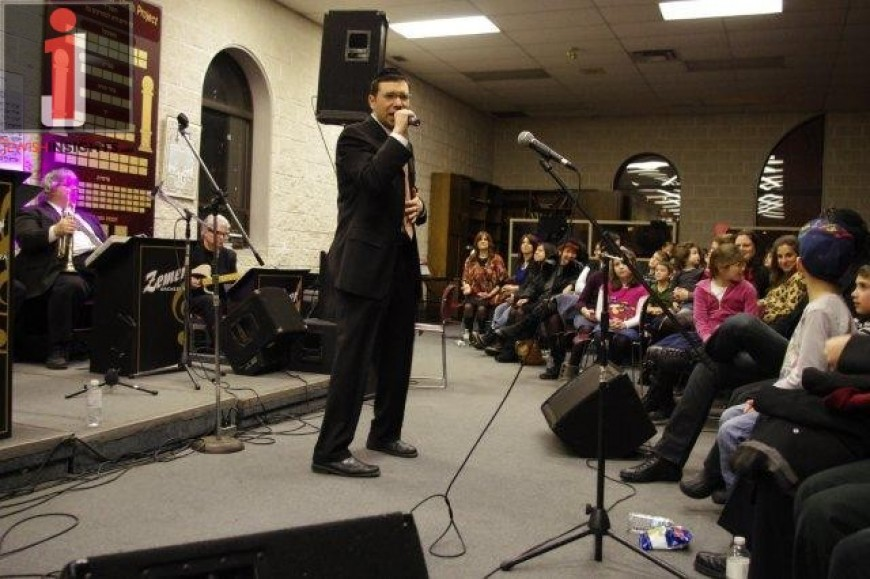 PRUZ at an Evening of Music at Yeshivas Eitz Chaim in Toronto