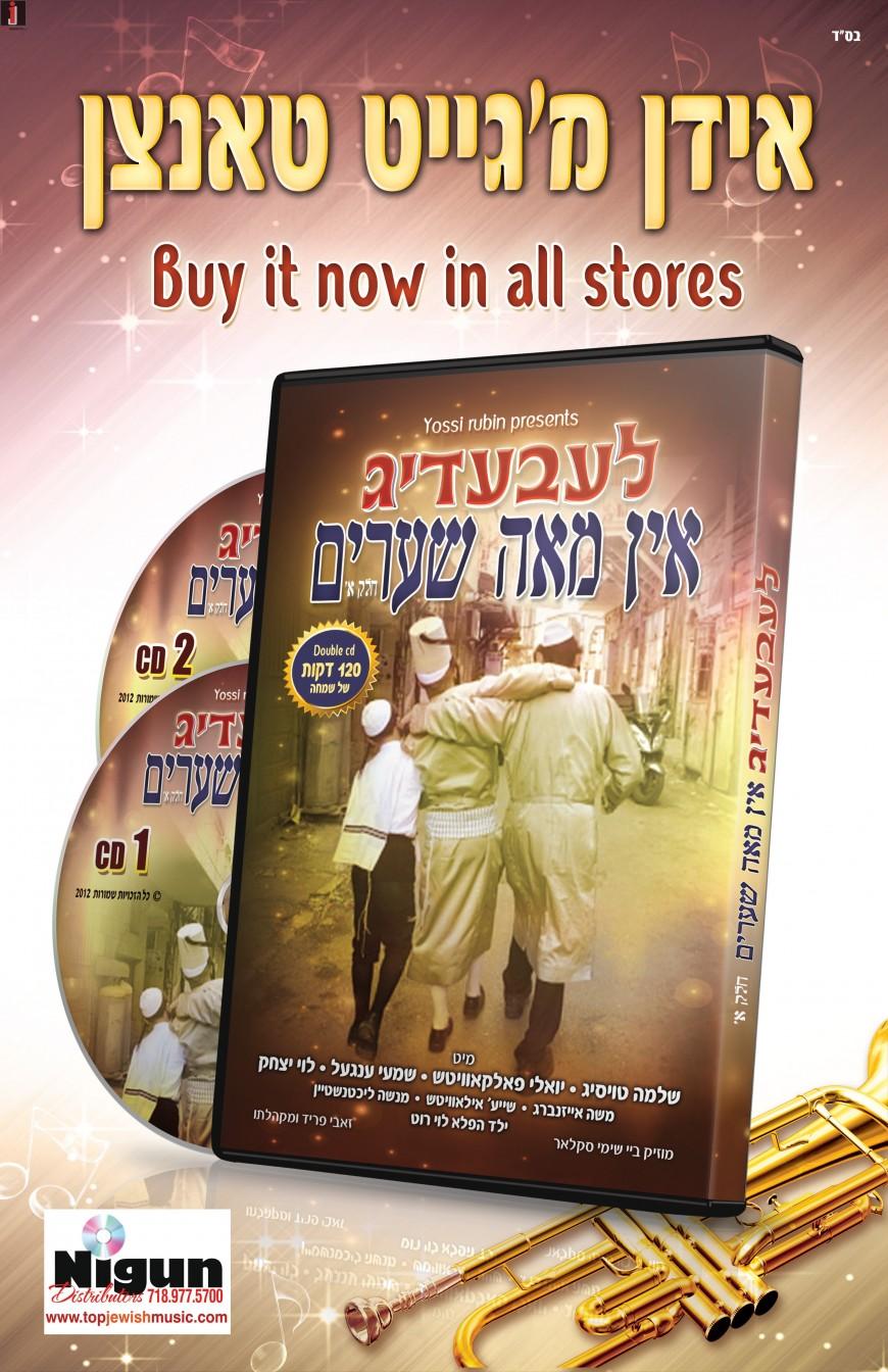 Yossi Rubin Presents: LEIBIDIG IN MEAH SHEARIM