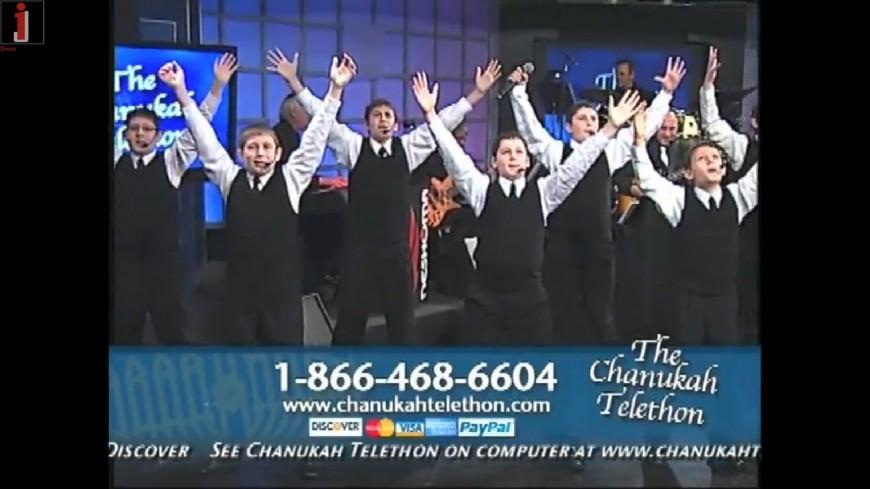 New York Boys Choir Sings Ma'aminim @ Chabad Telethon 2011