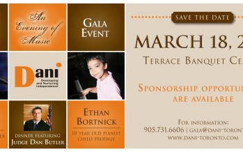 DANI's 6th Annual Gala Featuring Baruch Levine & Ethan Bortnick