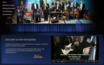 The Shloime Dachs Orchestra launches their website!